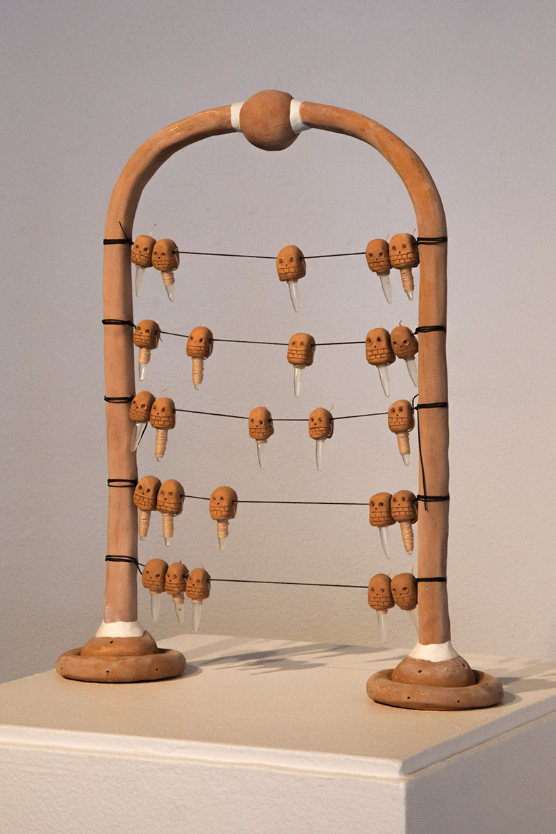 DNA storage ceramic abacus