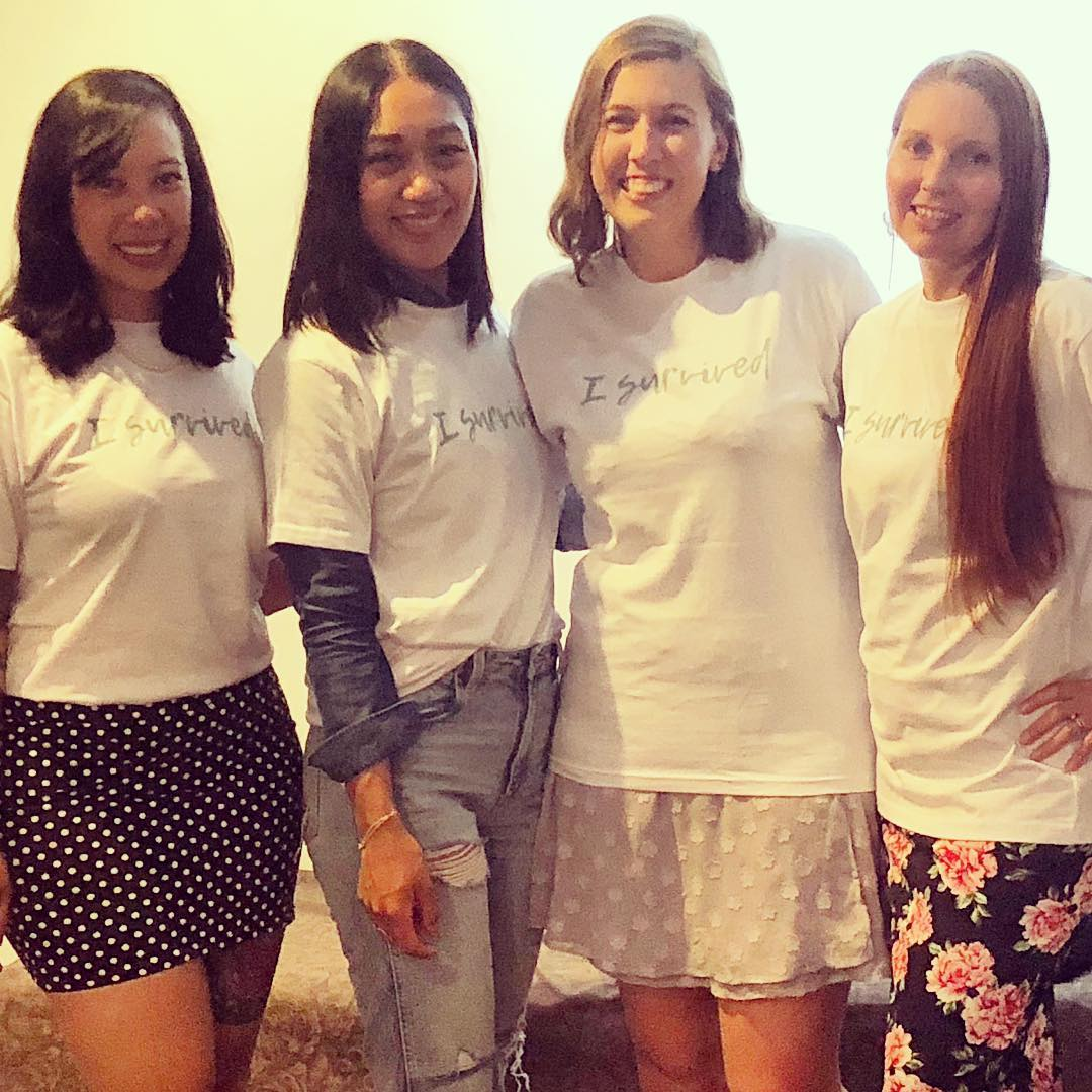 PICTURED L-R: LEOLA ROSE, ELAINE, CARLY & MELISSA