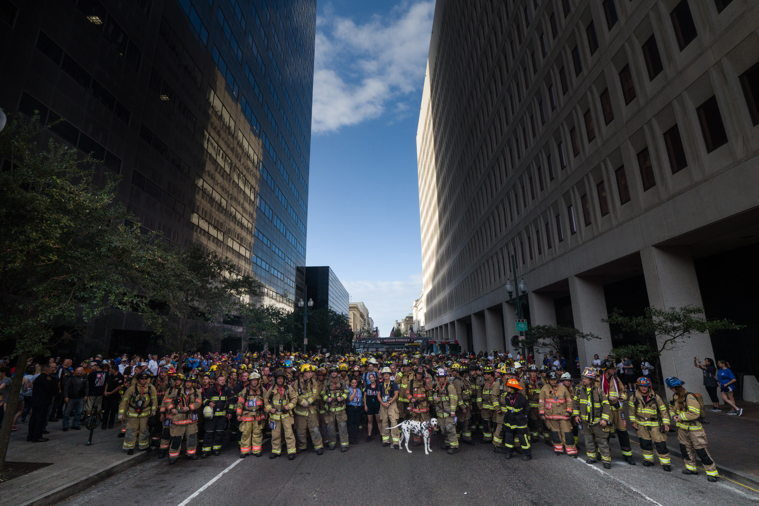 New Orleans Never Forget 9/11 Stair Climb