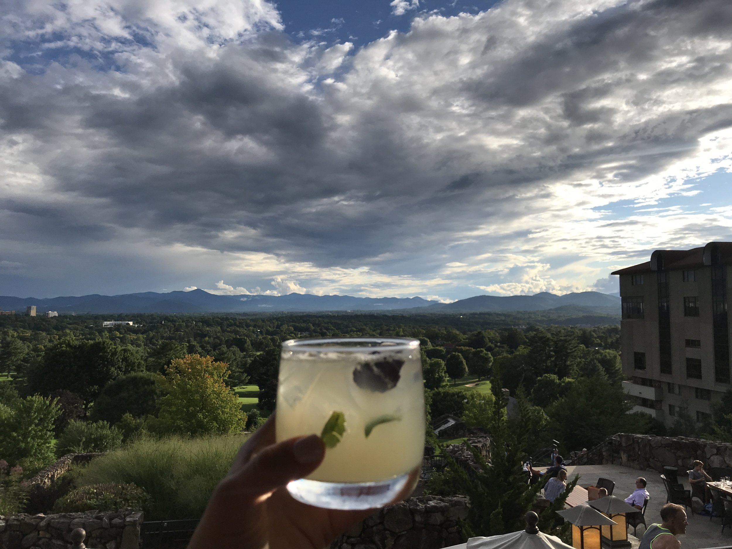Cheers to endless views