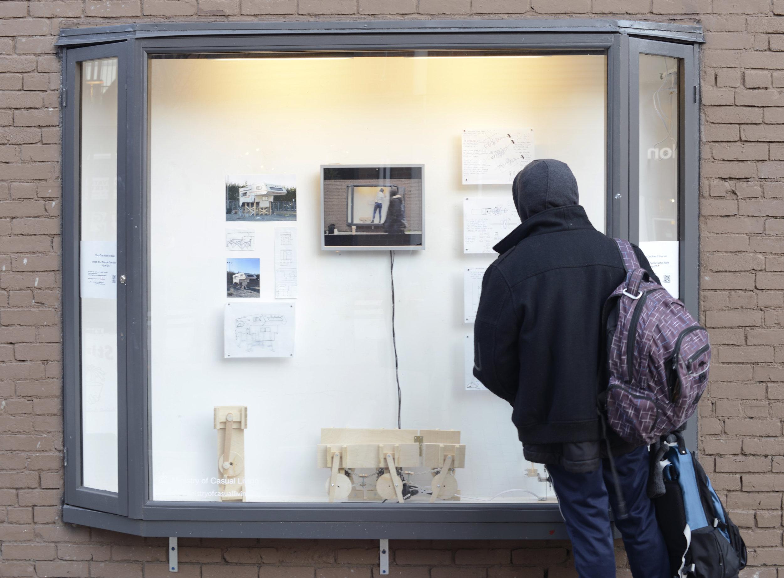 Odeon Alley Window Gallery display