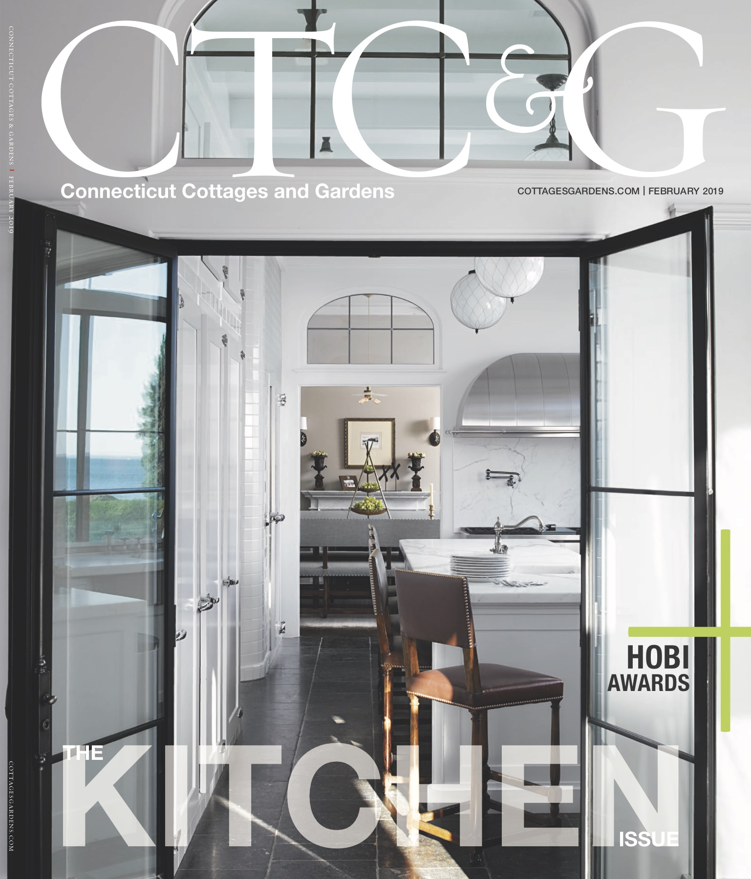 Connecticut Cottages & Gardens February 2019