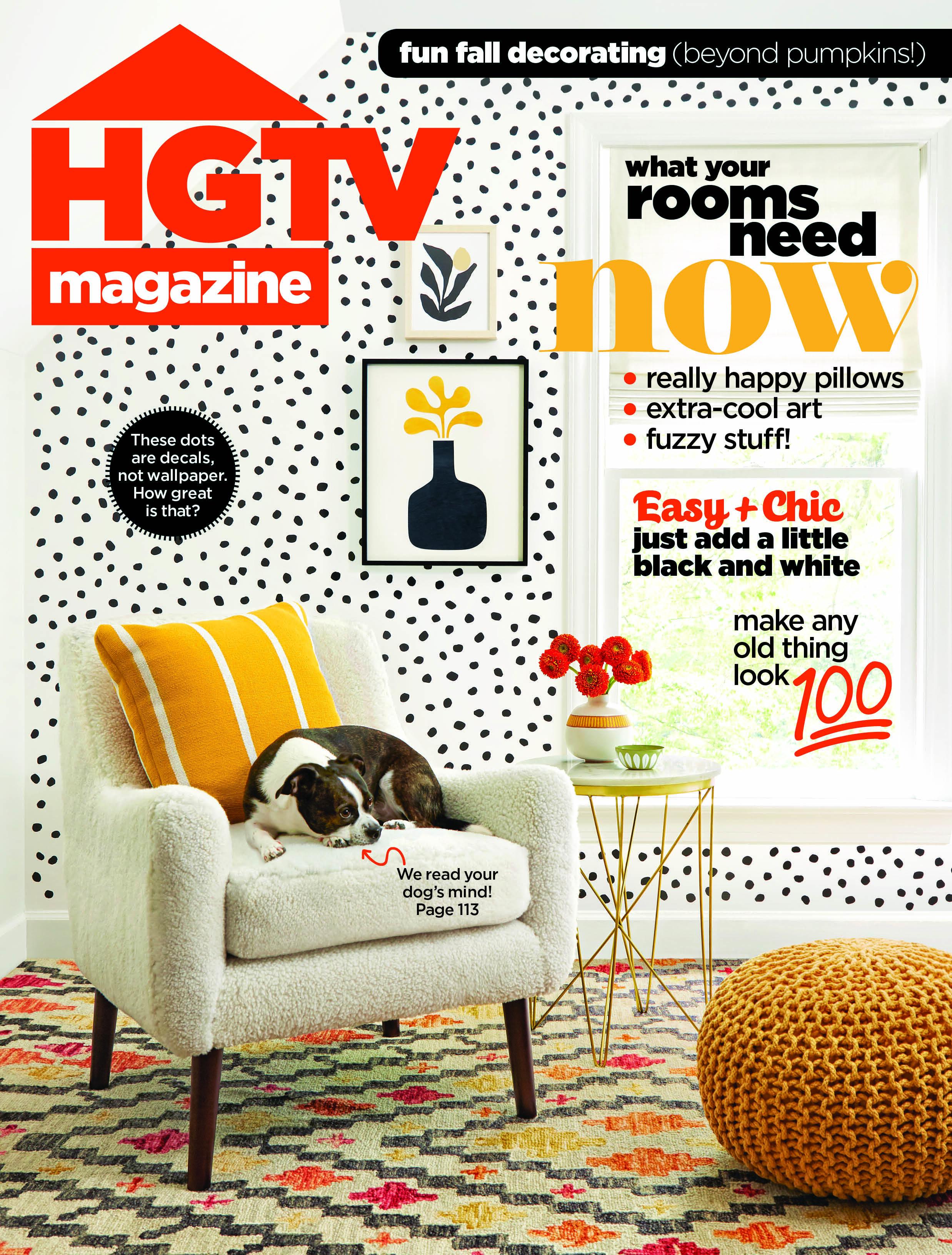 HGTV Magazine Fall 2019