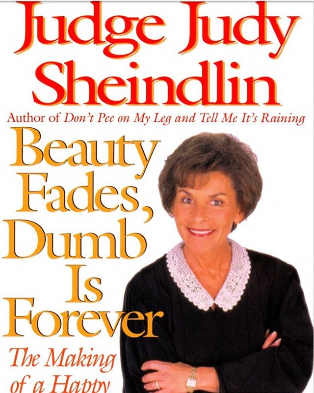 #Wednesday's #mantra  #judgejudy