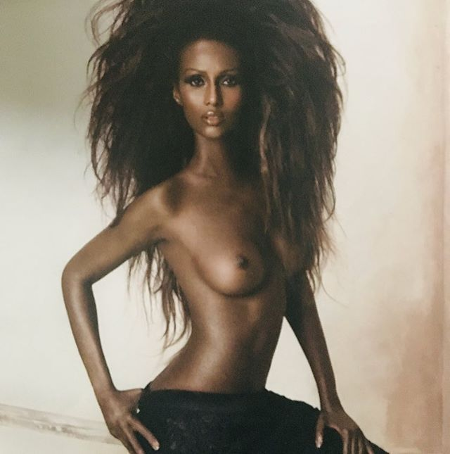 #fbf @the_real_iman  #photographer @ruvenafanador  #stylist @freddie_leiba  #makeup @mallyroncal  #hair @chuckielovehair
