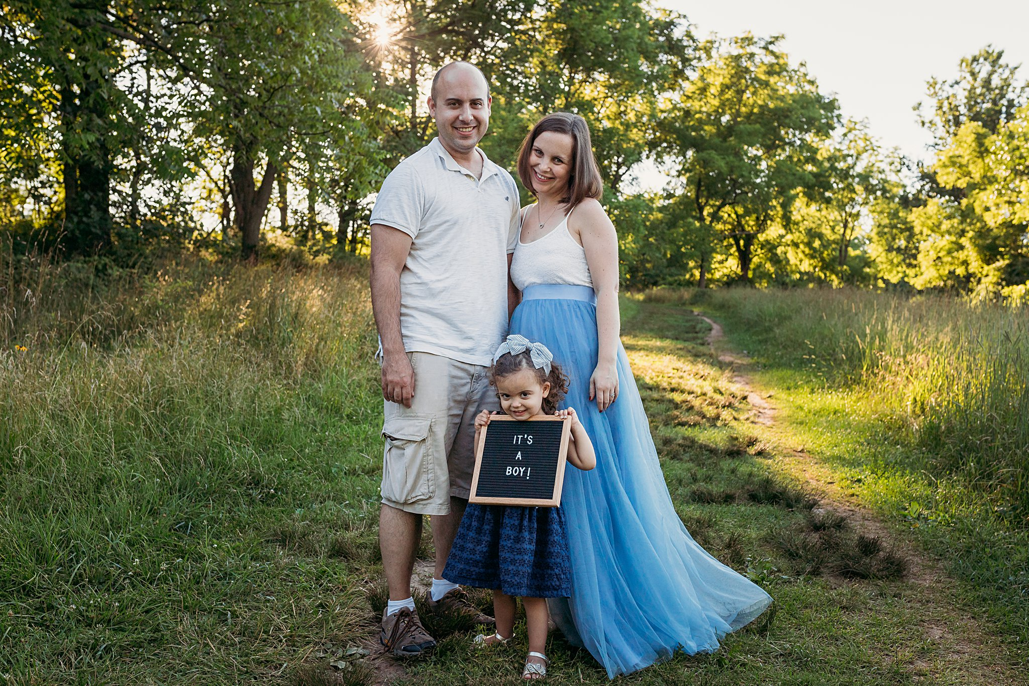 Maternity photographer in Bucks County, PA