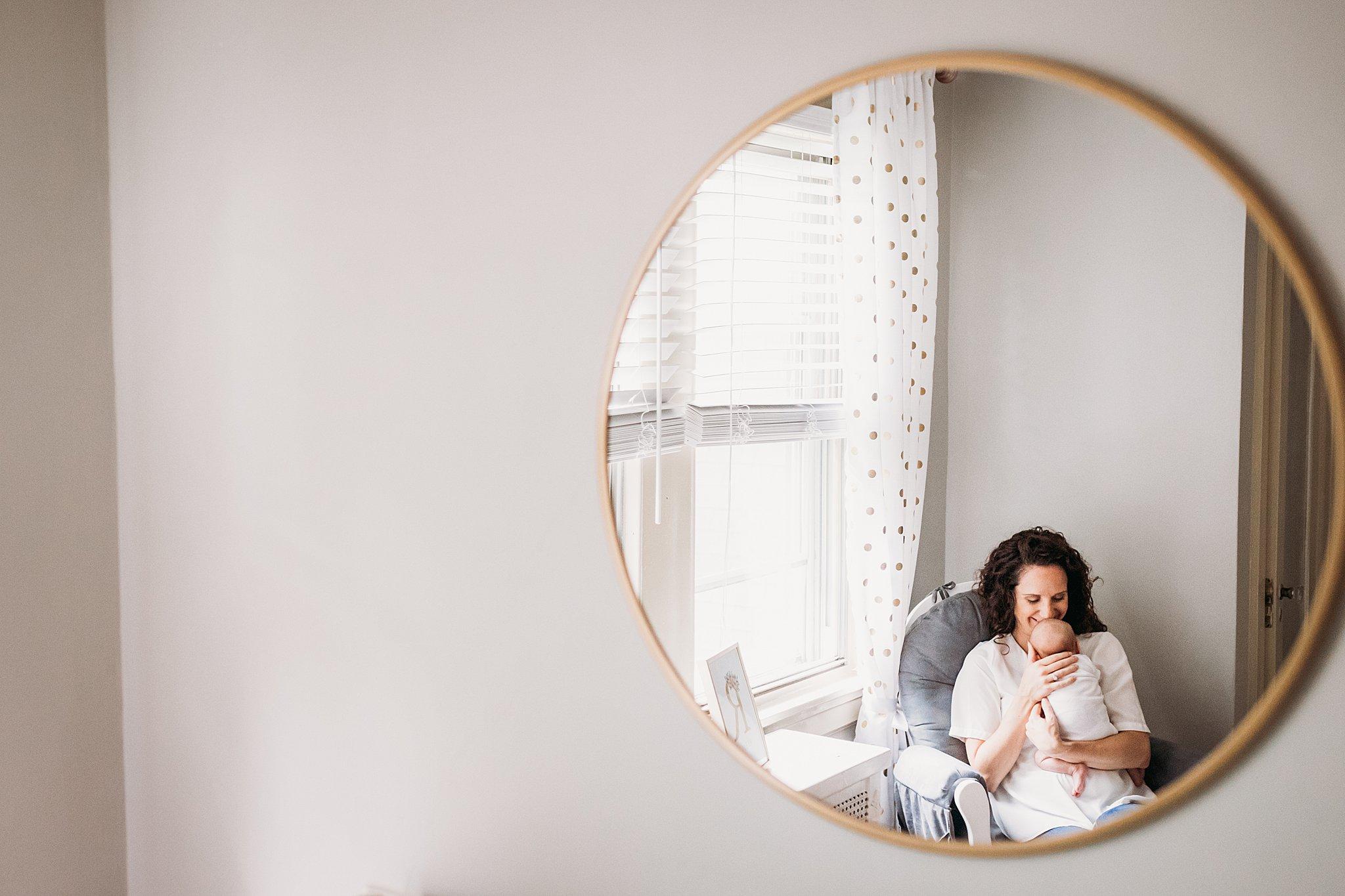 Lifestyle Newborn Photography in Philadelphia