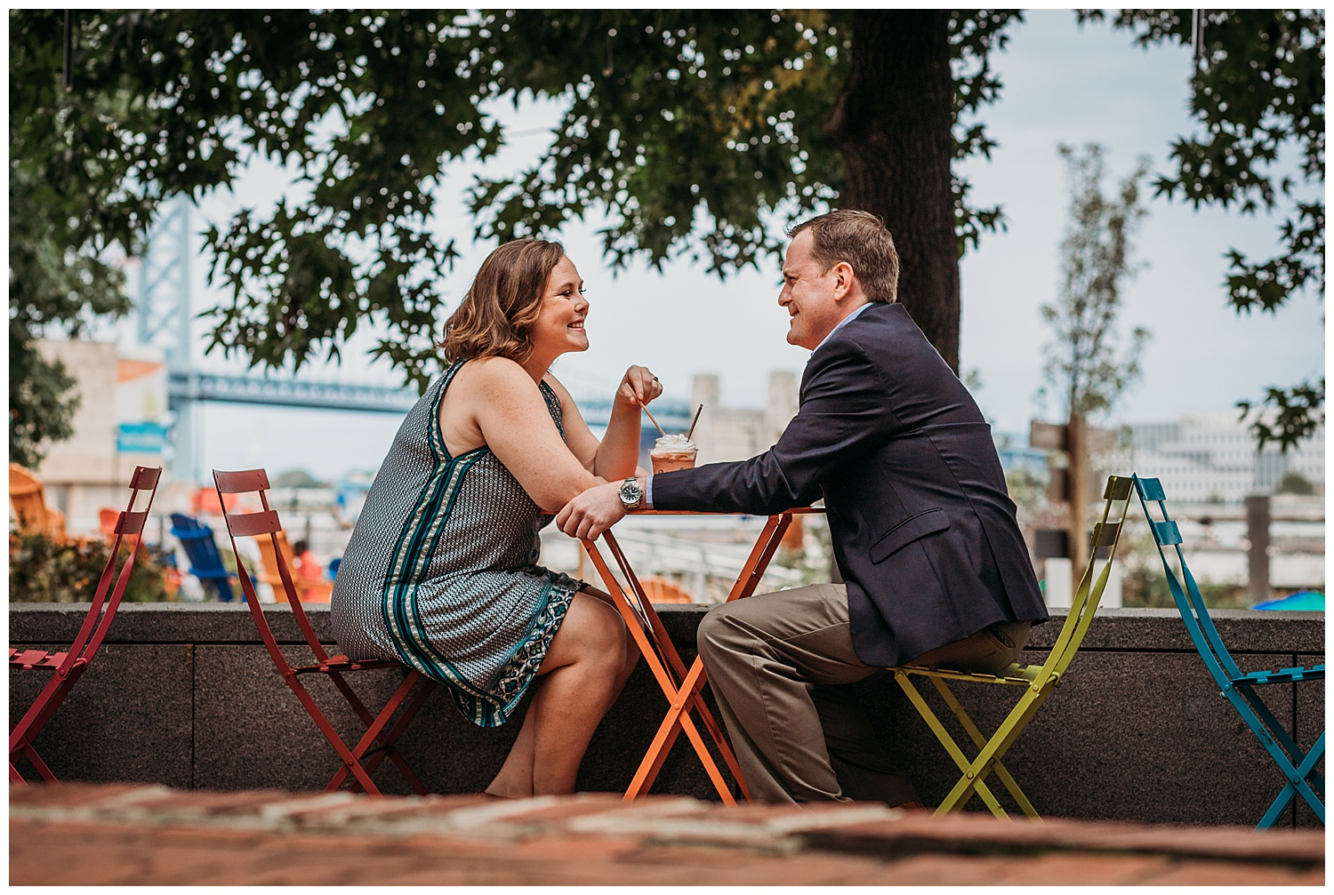 Elkins Park Engagement Photographer
