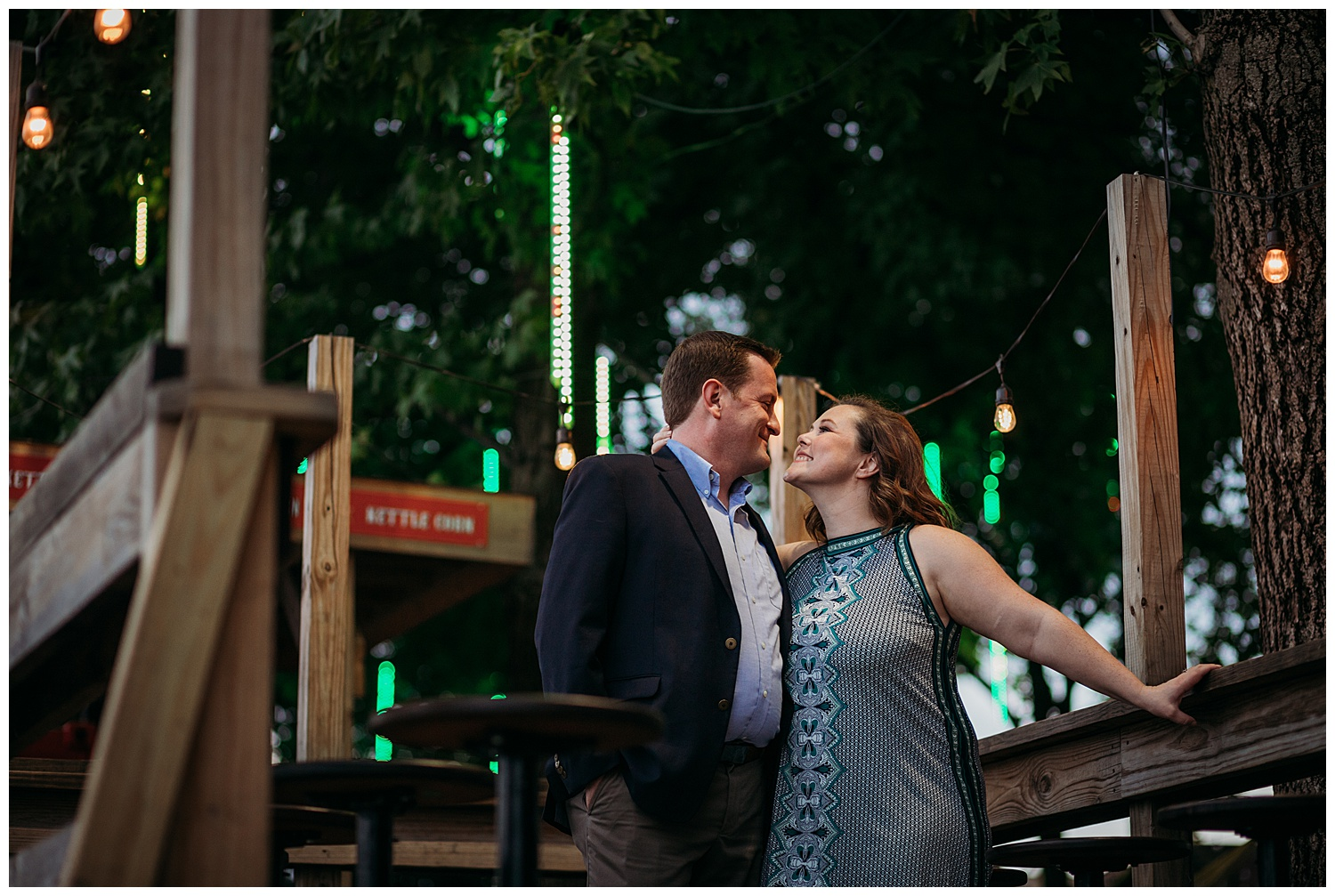 Spruce Street Harbor Engagement Photography Shoot