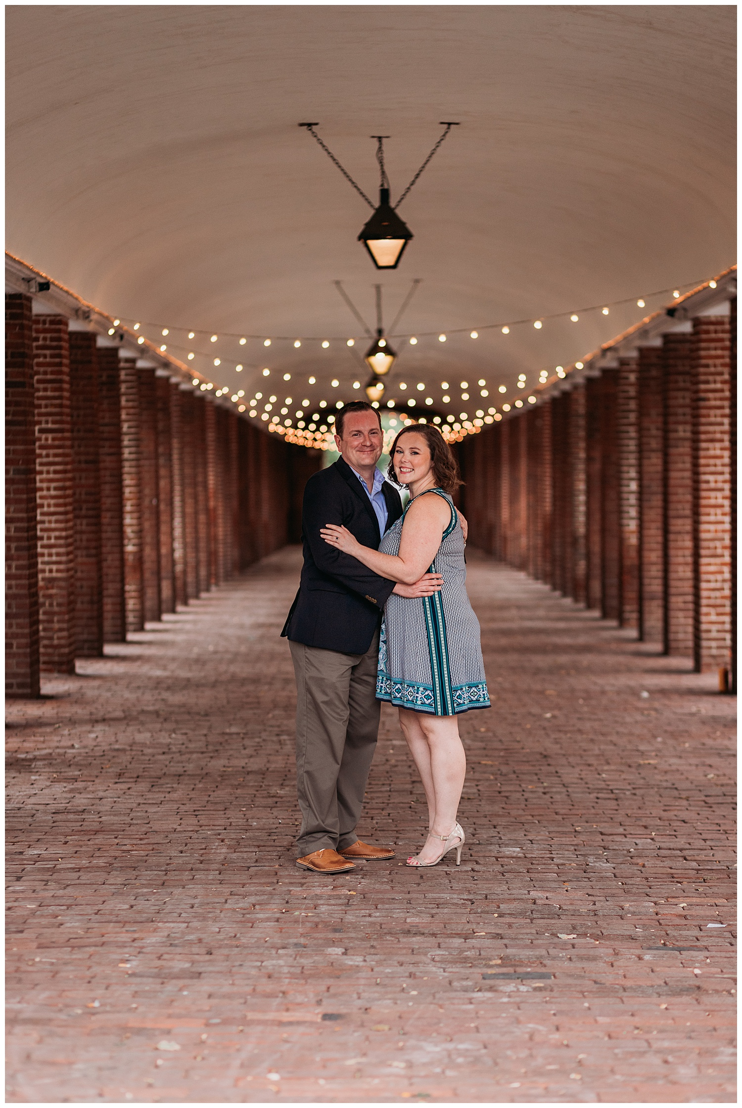 Headhouse Square Philadelphia Engagement Photography
