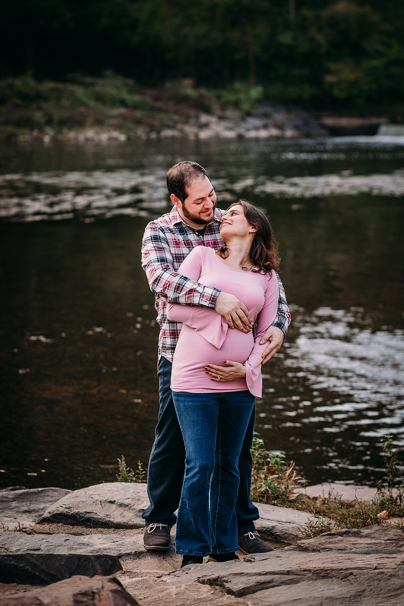 Bucks county maternity photography