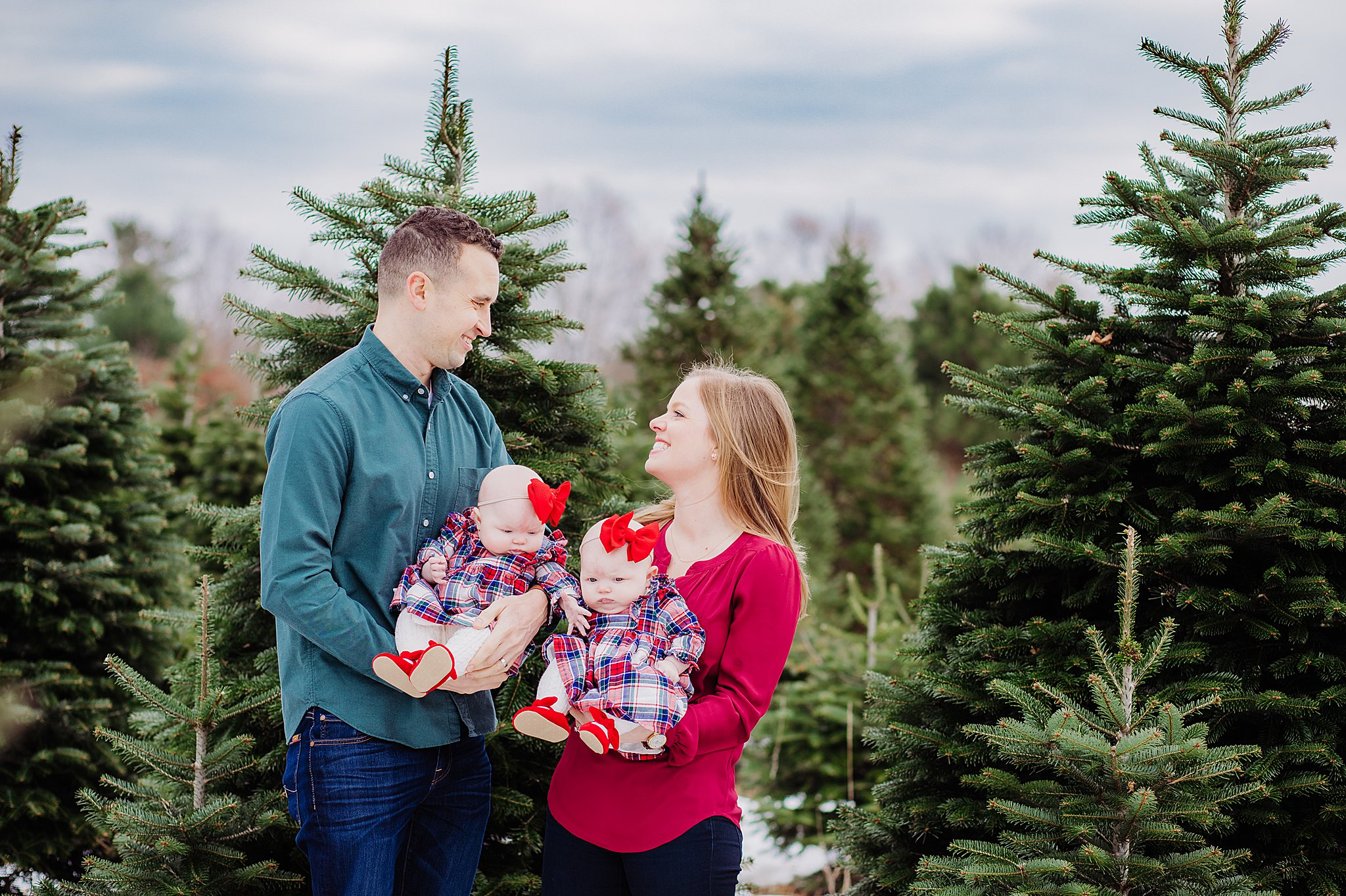 Christmas Tree Farm Photographer Philadelphia