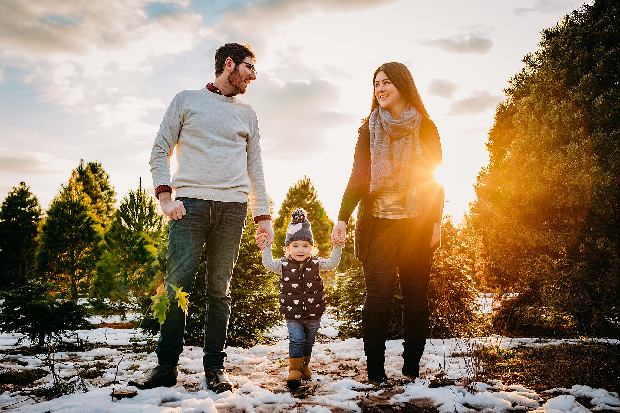 Main Line Family Photography Christmas Tree Farm