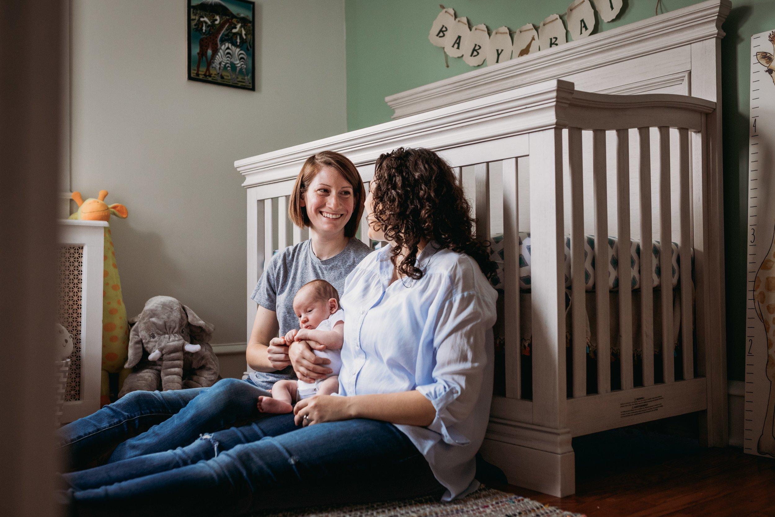 Elkins Park Newborn Photographer