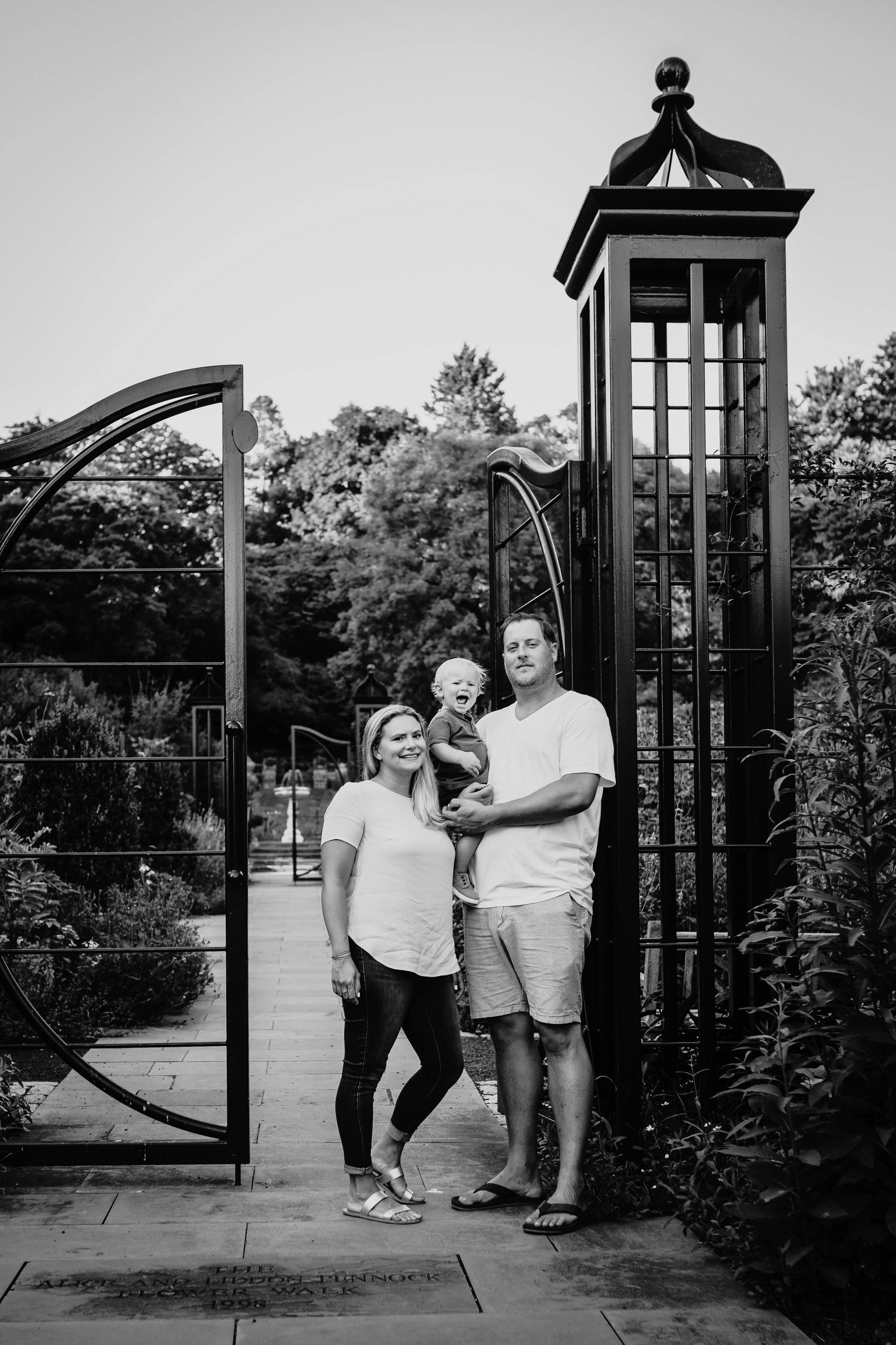 Family Photography Session at Morris Arboretum with Desiree Hoelzle Photography