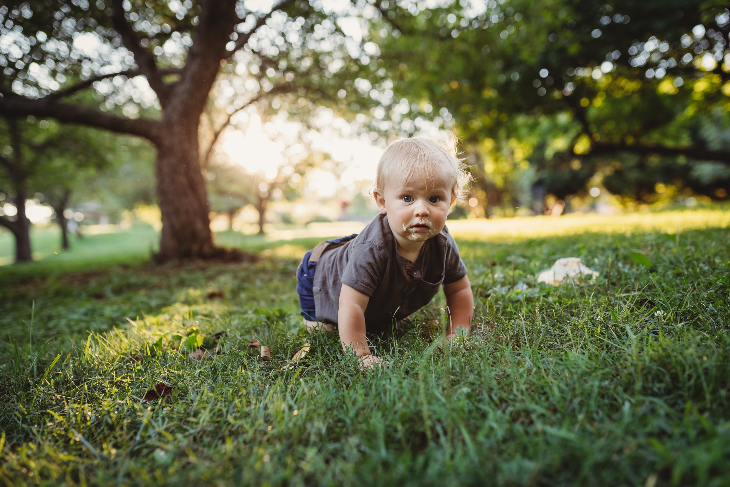 Morris Arboretum Family Photography Session with Desiree Hoelzle Photography