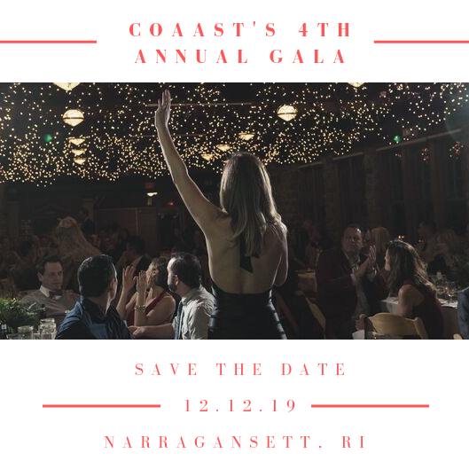 Save the Date! - December 12th 2019 6 - 10pmThe Towers, Narragansett RI