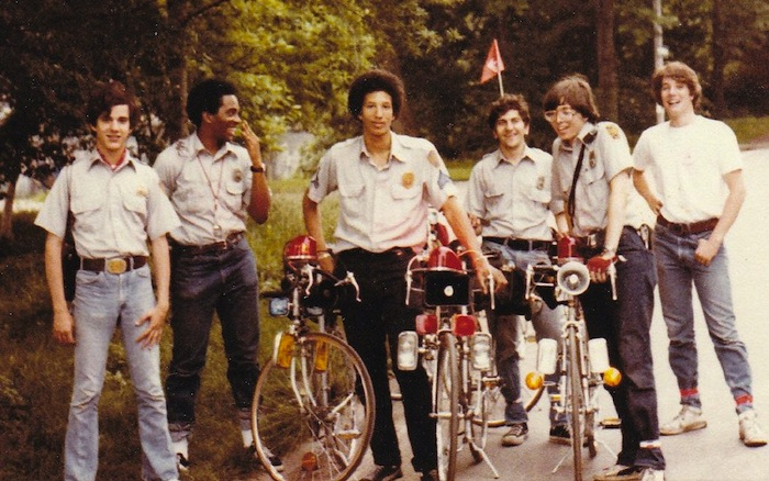 Members of the Central Park Medical Rescue Squad in 1975 Current CPMU members Rafael Castellanos left and David Cummings second from left