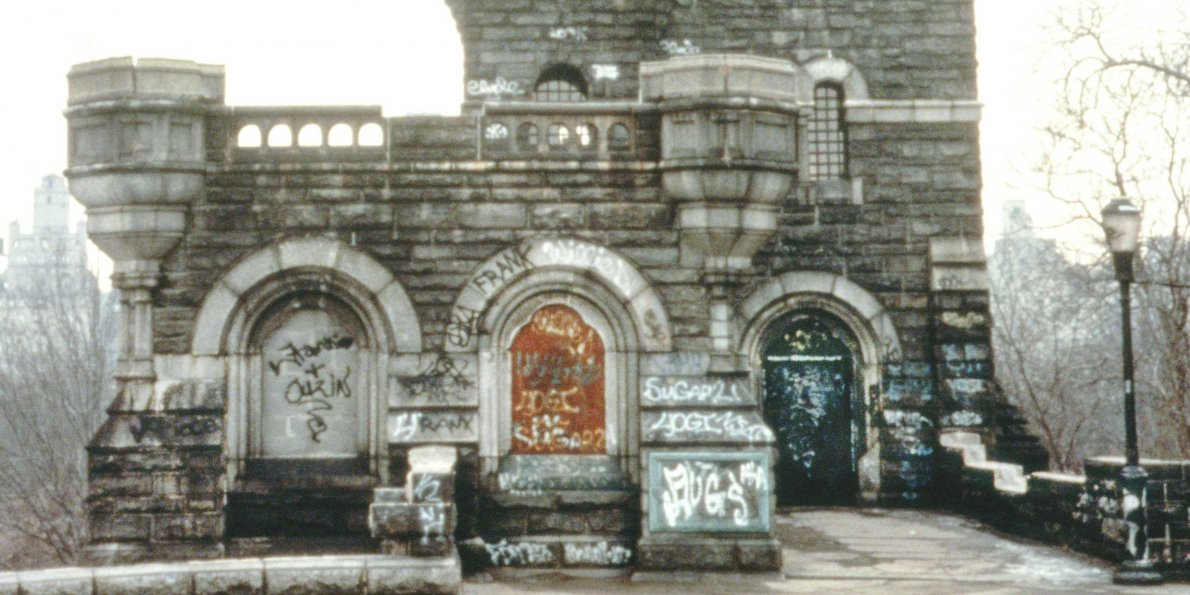 Belvedere Castle in the 1970's