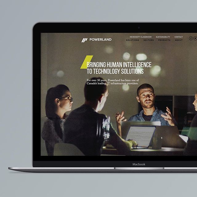 We worked with Powerland to craft a new brand strategy, and design and develop a custom website to position them as a Canadian leader in IT services. 📲 See our Powerland story highlight for more details on this project.