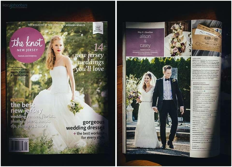 Feature article of The Essence of the Garden Floral Boutique Weddings & Events
