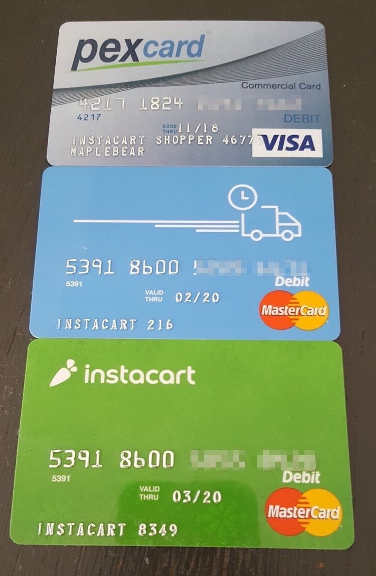 The evolution of Instacart's payment cards from PEX to Marqeta