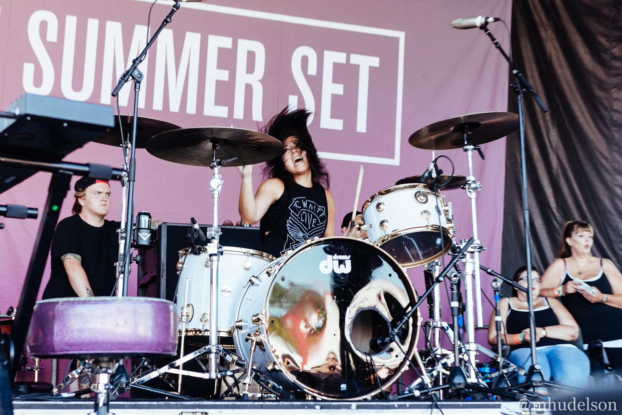 The Summer Set / 8/12/16 / Vans Warped Tour / Auburn, WA
