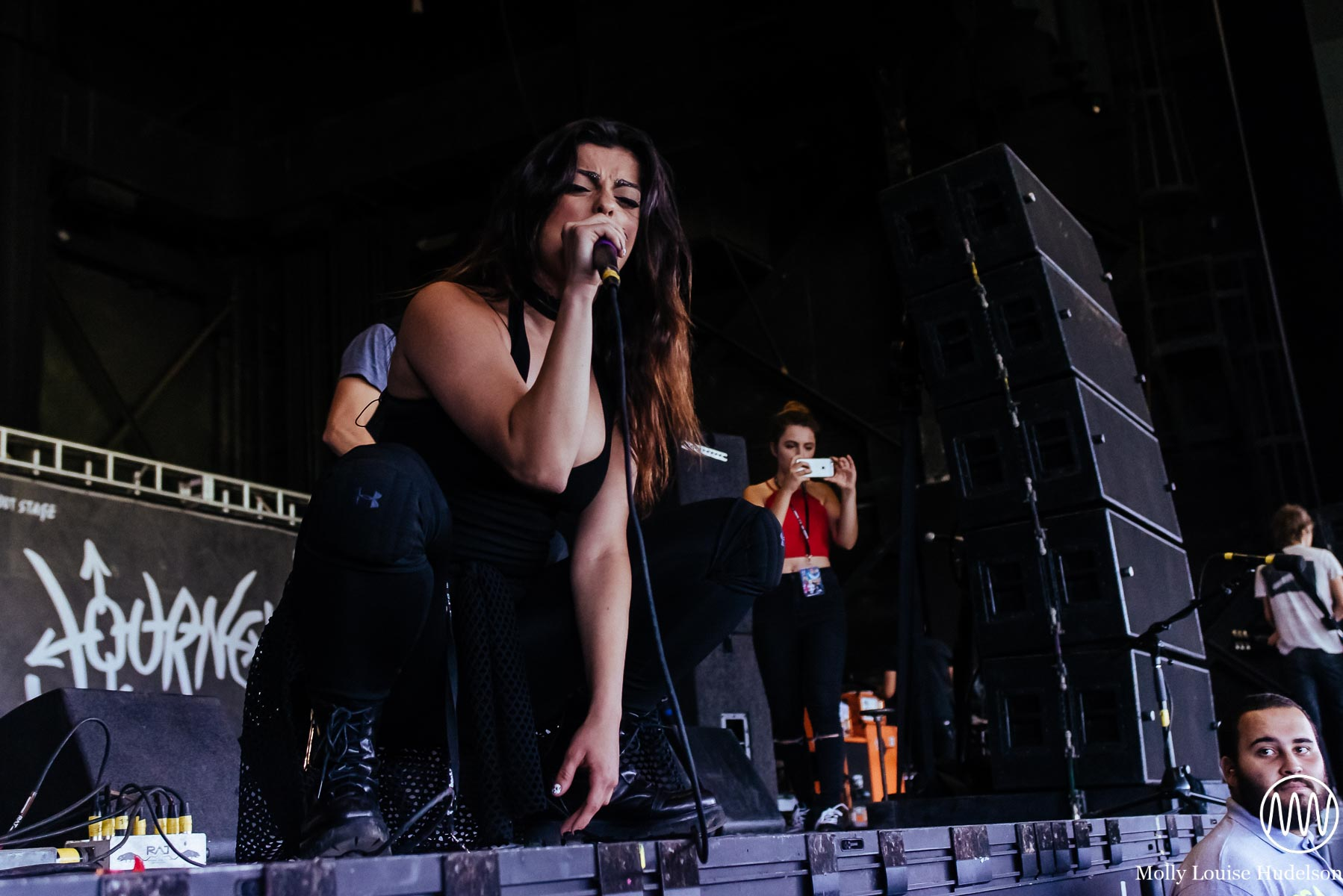 Bebe Rexha / 7/10/15 / Vans Warped Tour / Camden, NJ