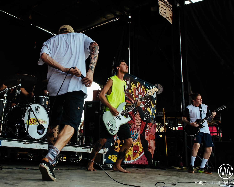Neck Deep / 7/19/15 / Vans Warped Tour / Holmdel, NJ
