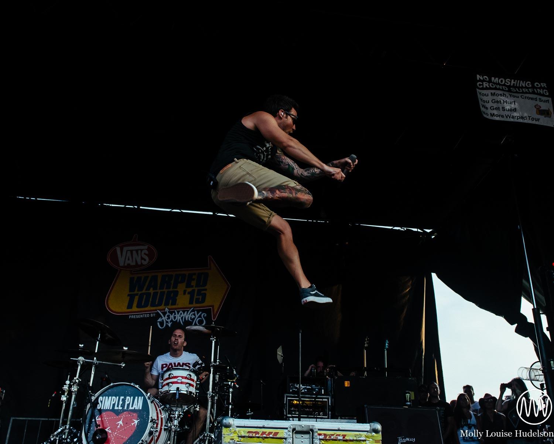 Simple Plan / 7/19/15 / Vans Warped Tour / Holmdel, NJ