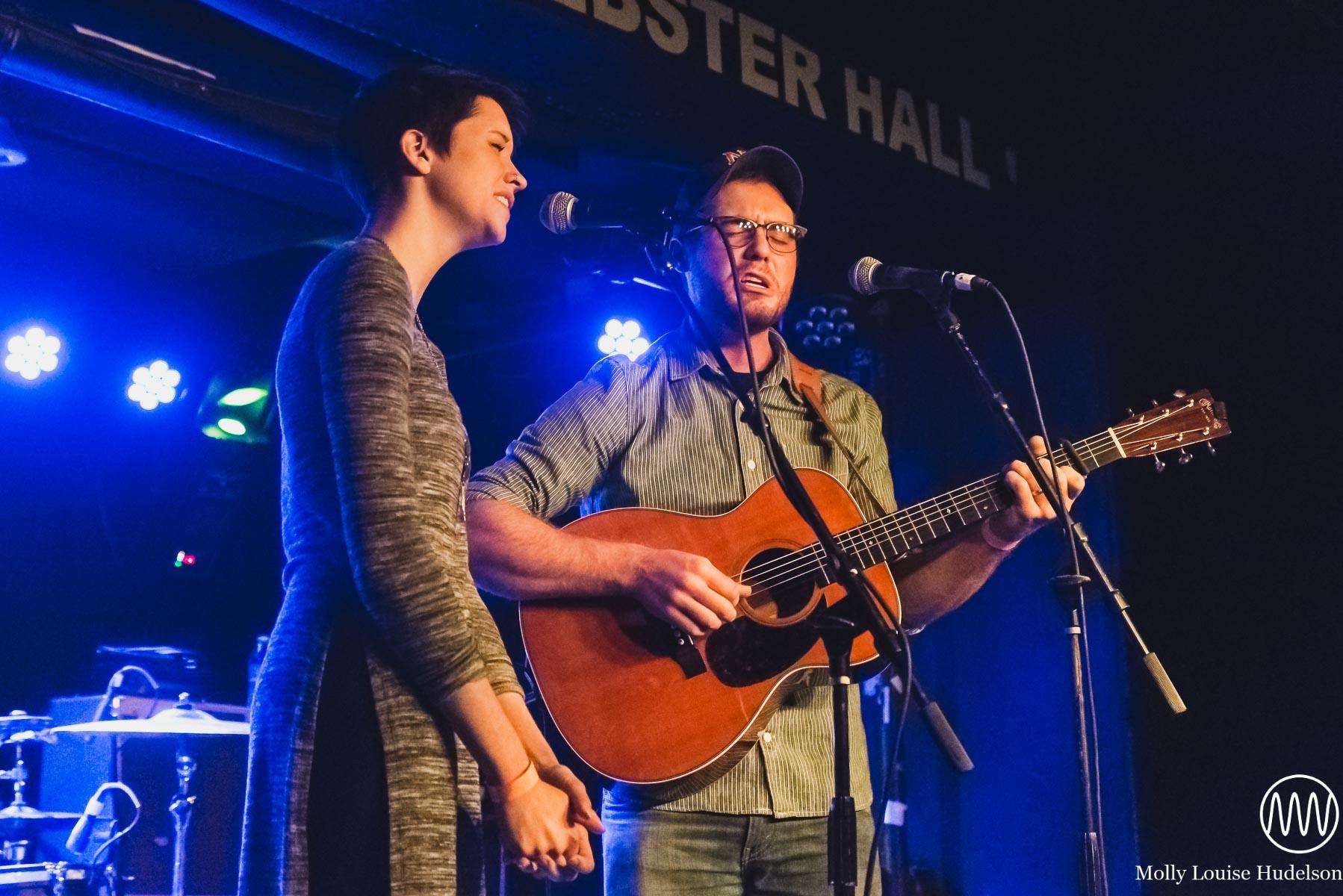 Caleb and Carolyn / 10/30/15 / The Studio at Webster Hall / New York, NY
