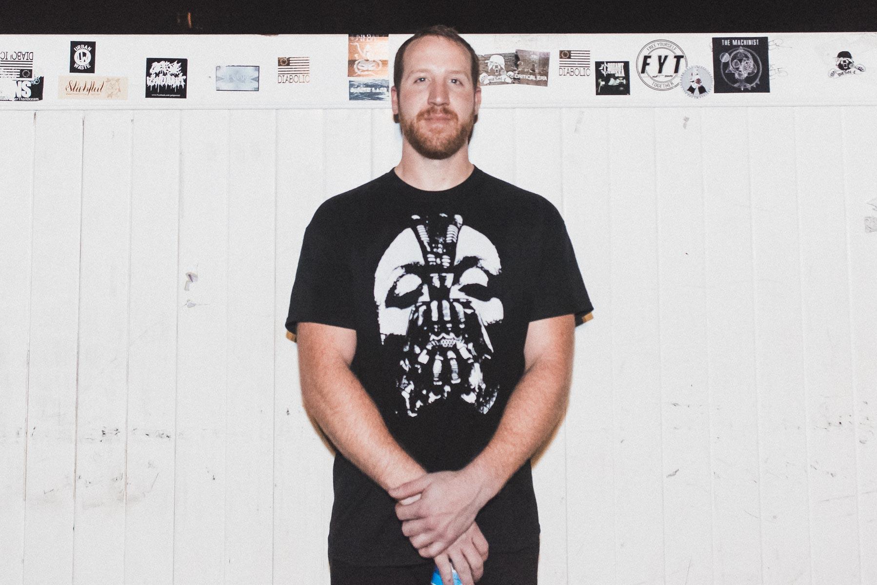 Lance of Pentimento post-set / 11/2/15 / Amityville Music Hall / Amityville, NY