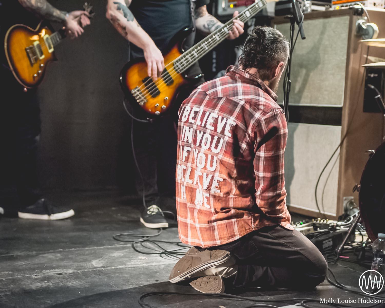 Davey Muise of Vanna / 1/31/15 / Webster Underground / Hartford, CT