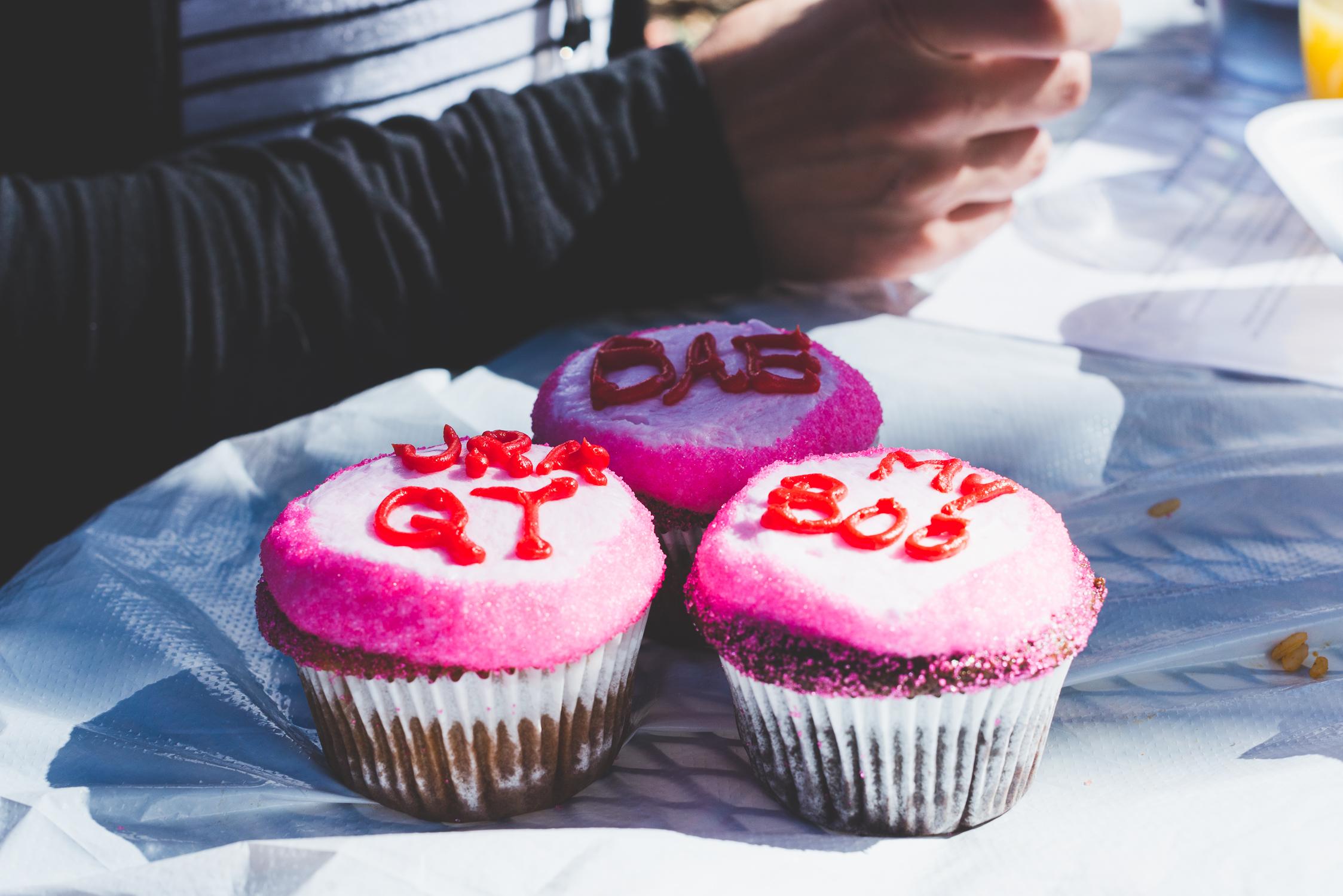 Valentine's Day cupcakes at Vegeria in San Antonio / 2/13/16 / San Antonio, TX