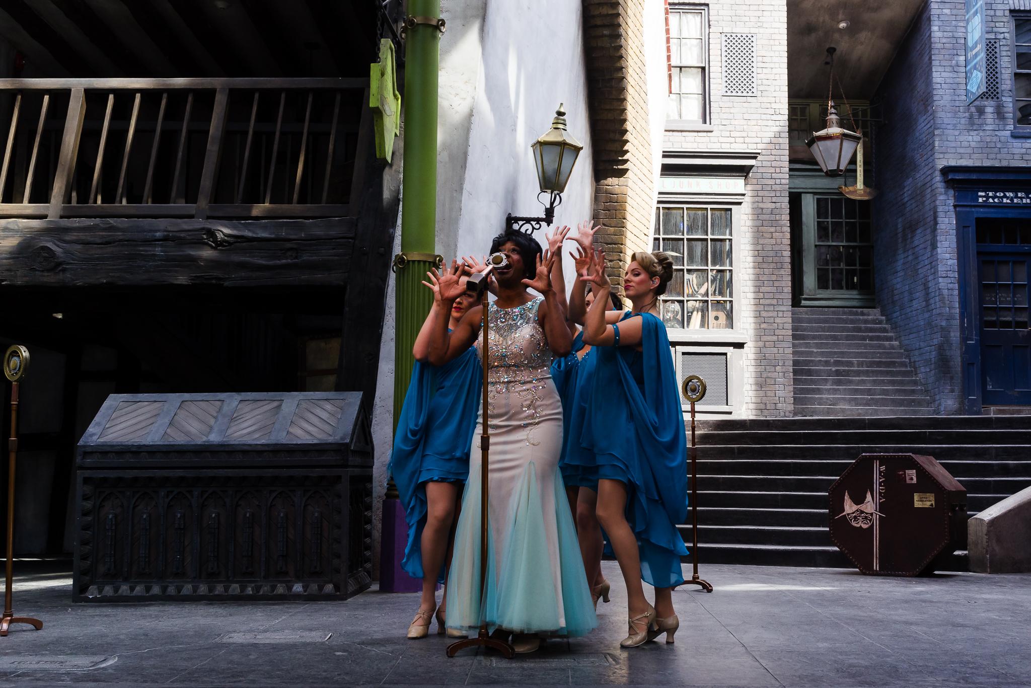 Celestine Warbeck and her Banshees. / 3/5/16 / Universal Studios / Orlando, FL