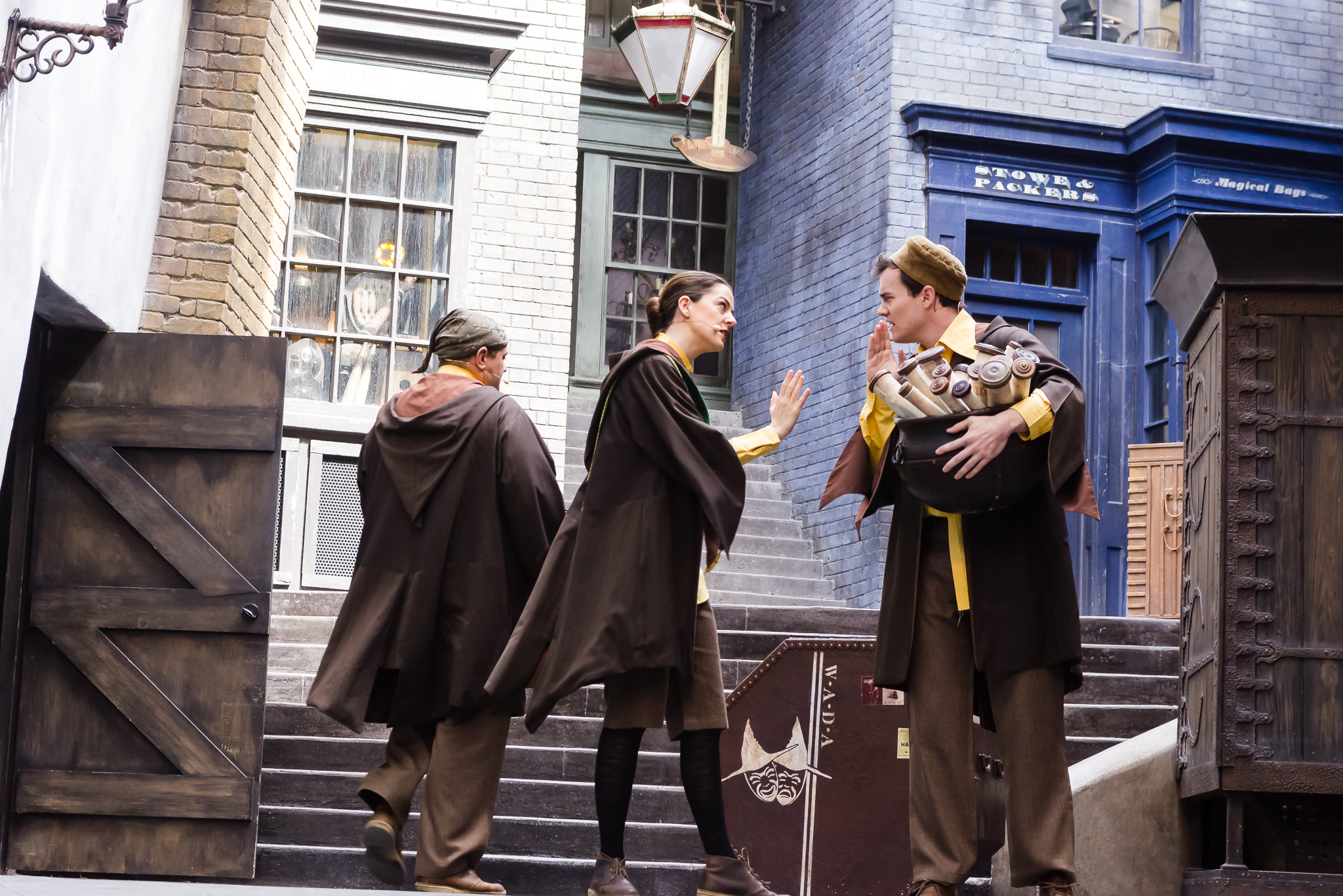 WADA actors storytelling. / 3/5/16 / Universal Studios / Orlando, FL
