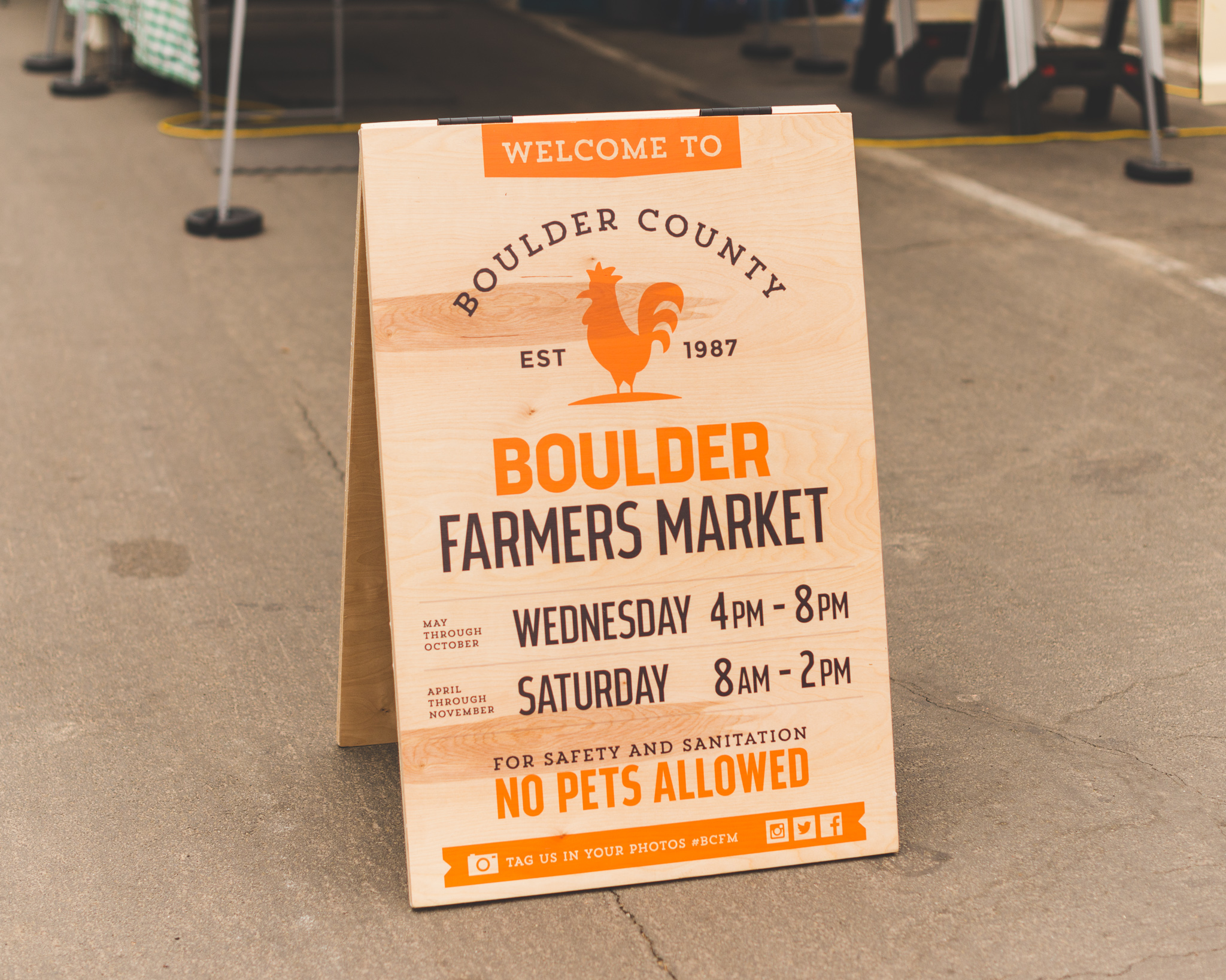 Boulder Farmers Market / 4/23/16 / Boulder, CO