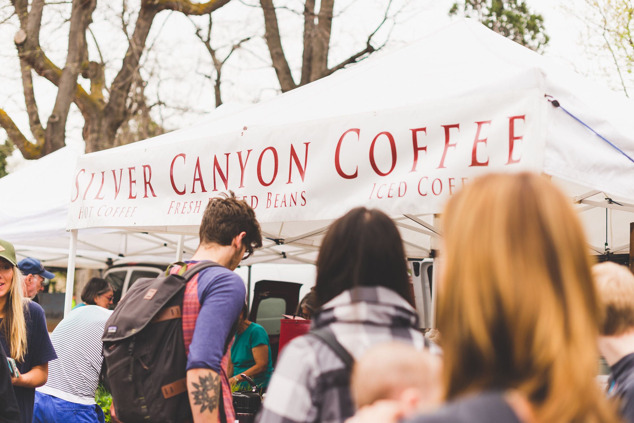 Can't say no to cold brew. / 4/23/16 / Boulder Farmers Market / Boulder, CO