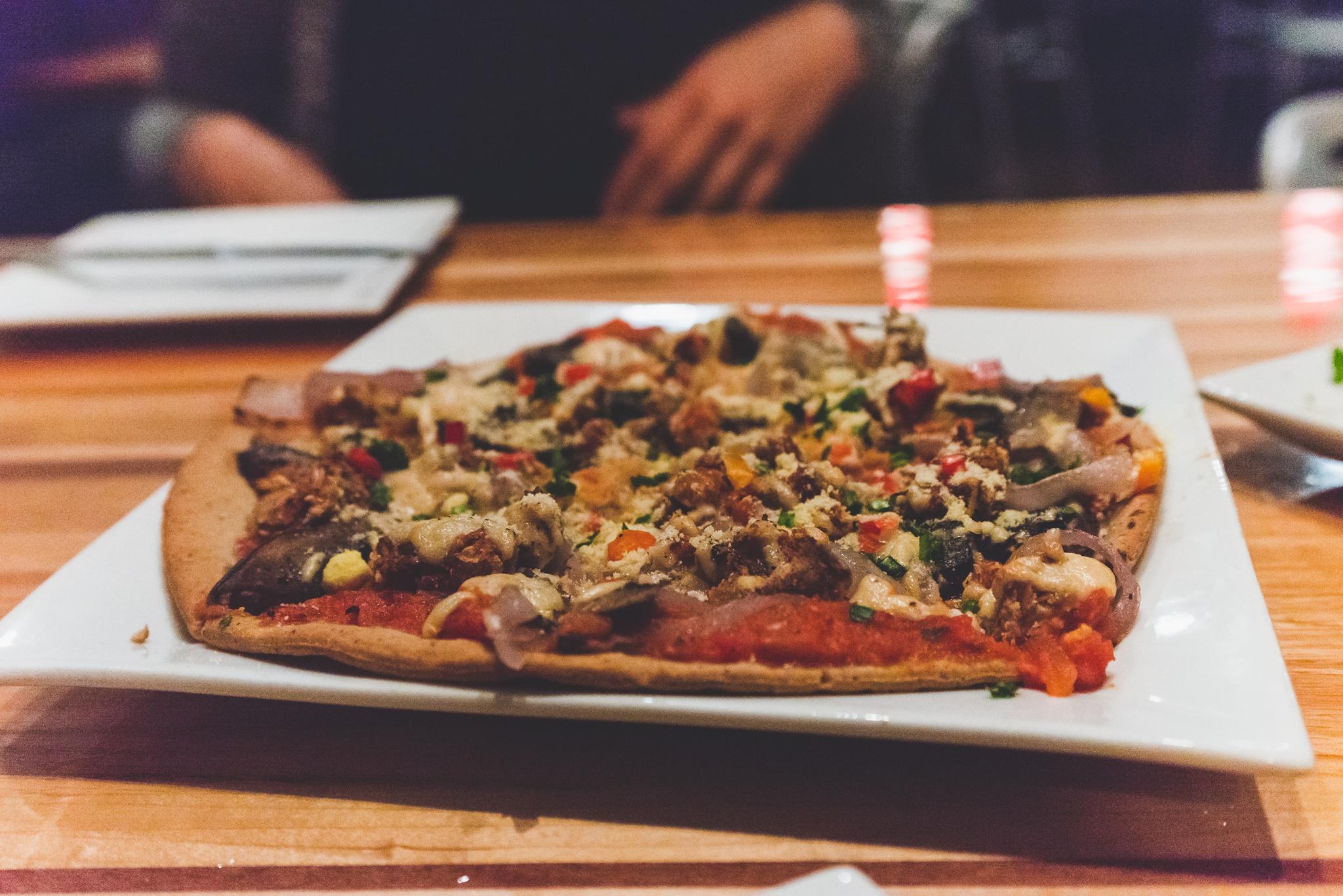 Roasted vegetable pizza / 4/28/16 / Zest / Salt Lake City, UT