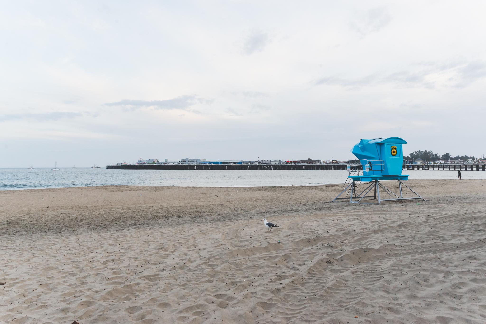 Lifeguard stand. / 5/3/16 / Santa Cruz, CA