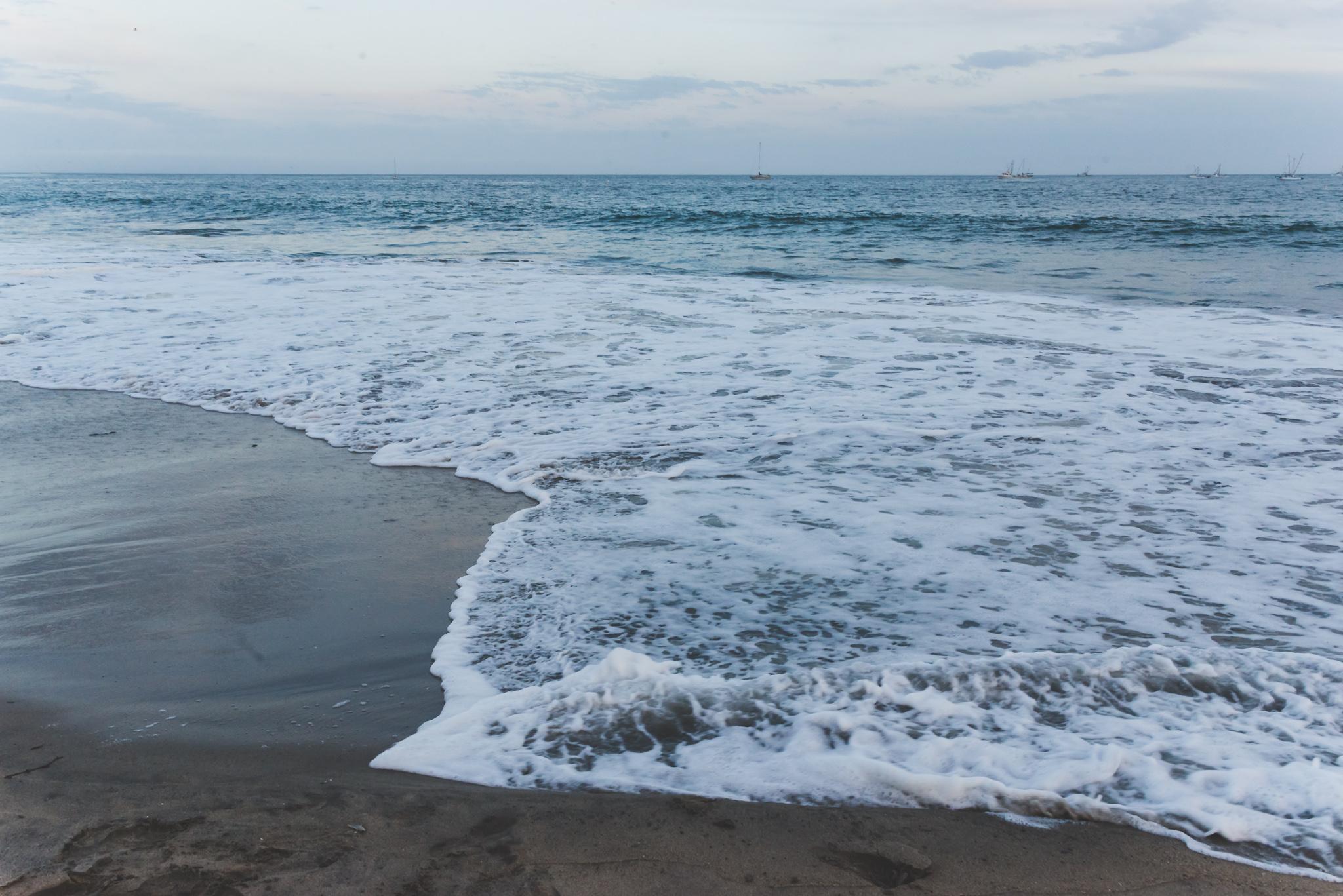 The tide coming in... / 5/3/16 / Santa Cruz, CA
