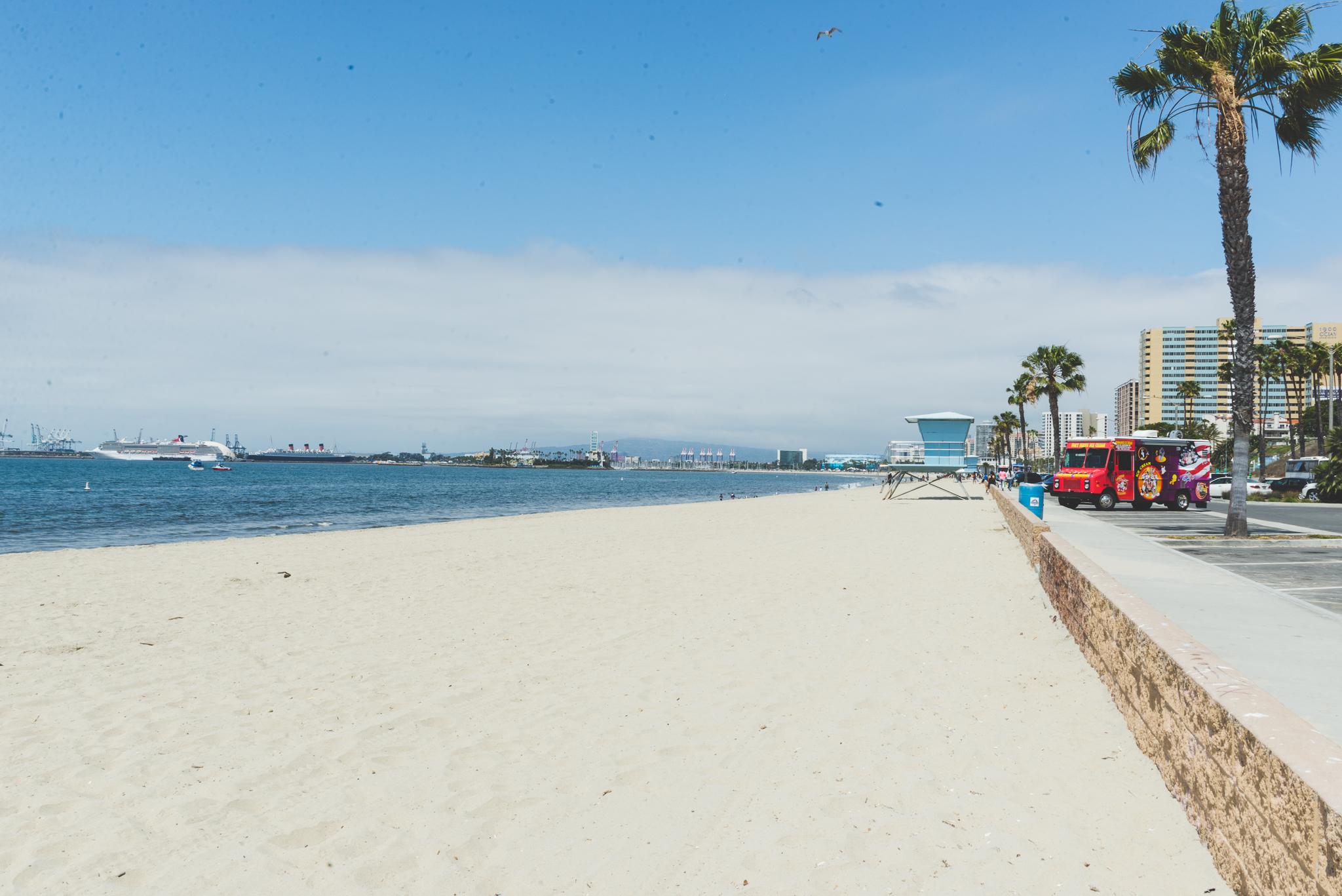What a nice view. / 5/14/16 / Long Beach, CA