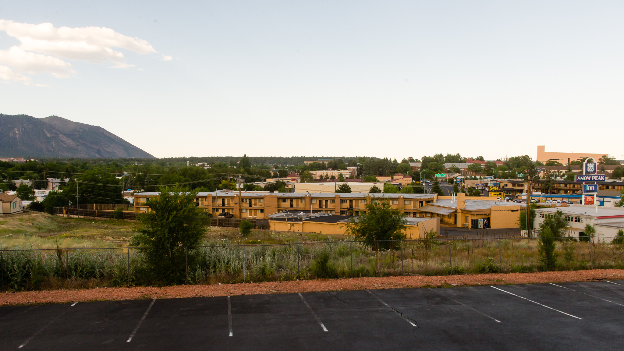 The view from our hotel! / 6/19/16 / Flagstaff, AZ