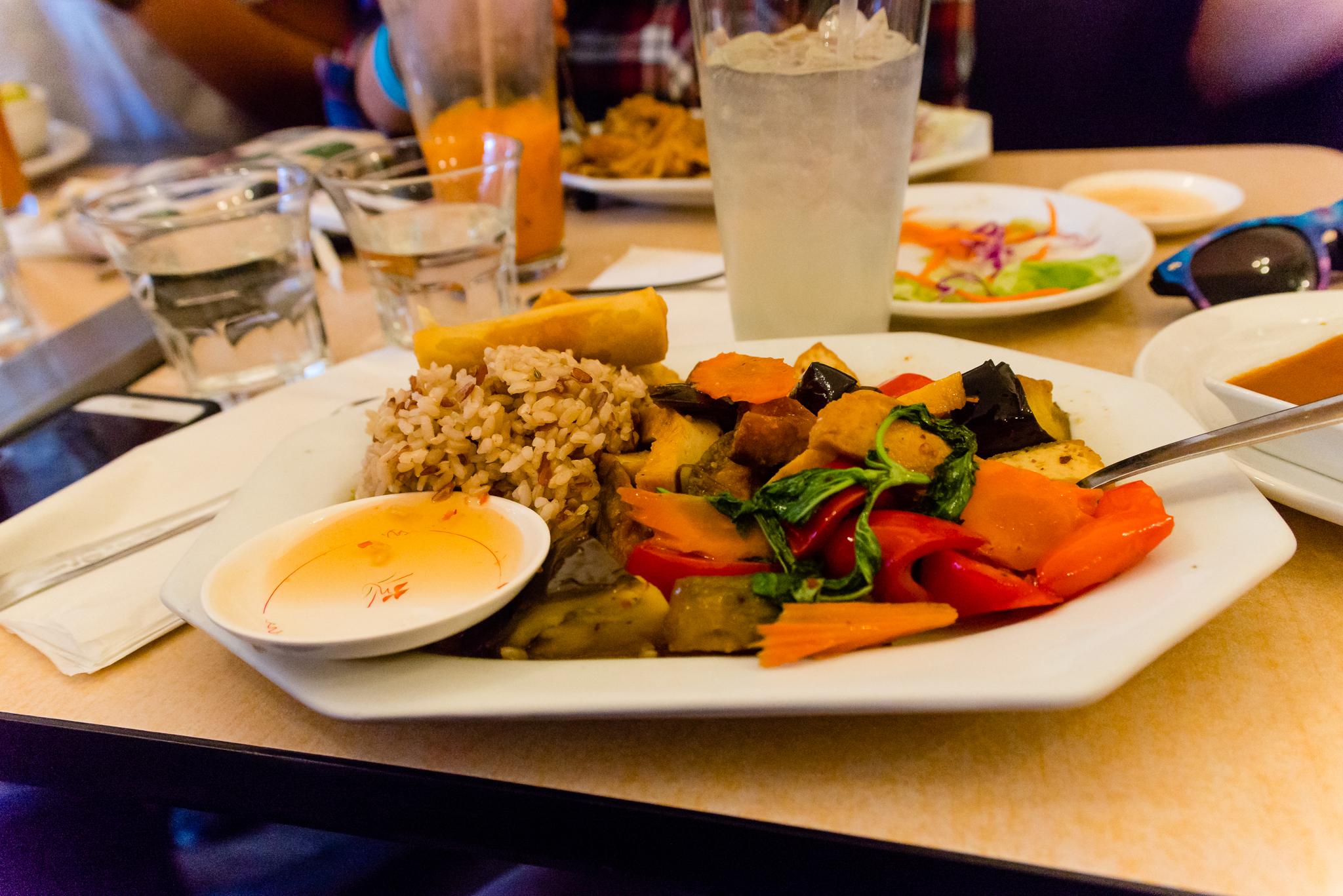 Thai food in Flagstaff! / 6/19/16 / Red Curry Vegan Kitchen / Flagstaff, AZ