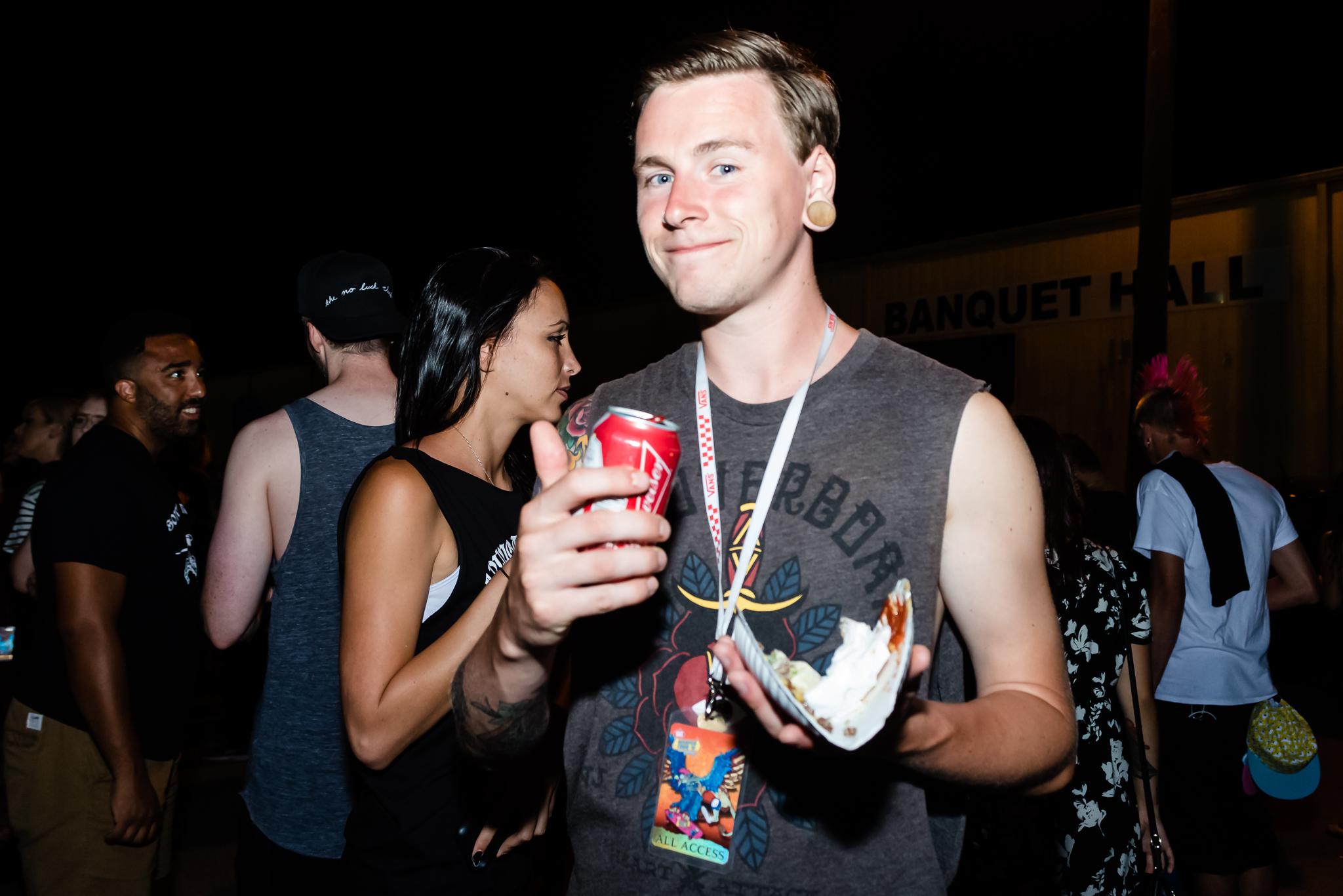 Luke of Like Pacific / 6/29/16 / Vans Warped Tour / Nashville, TN