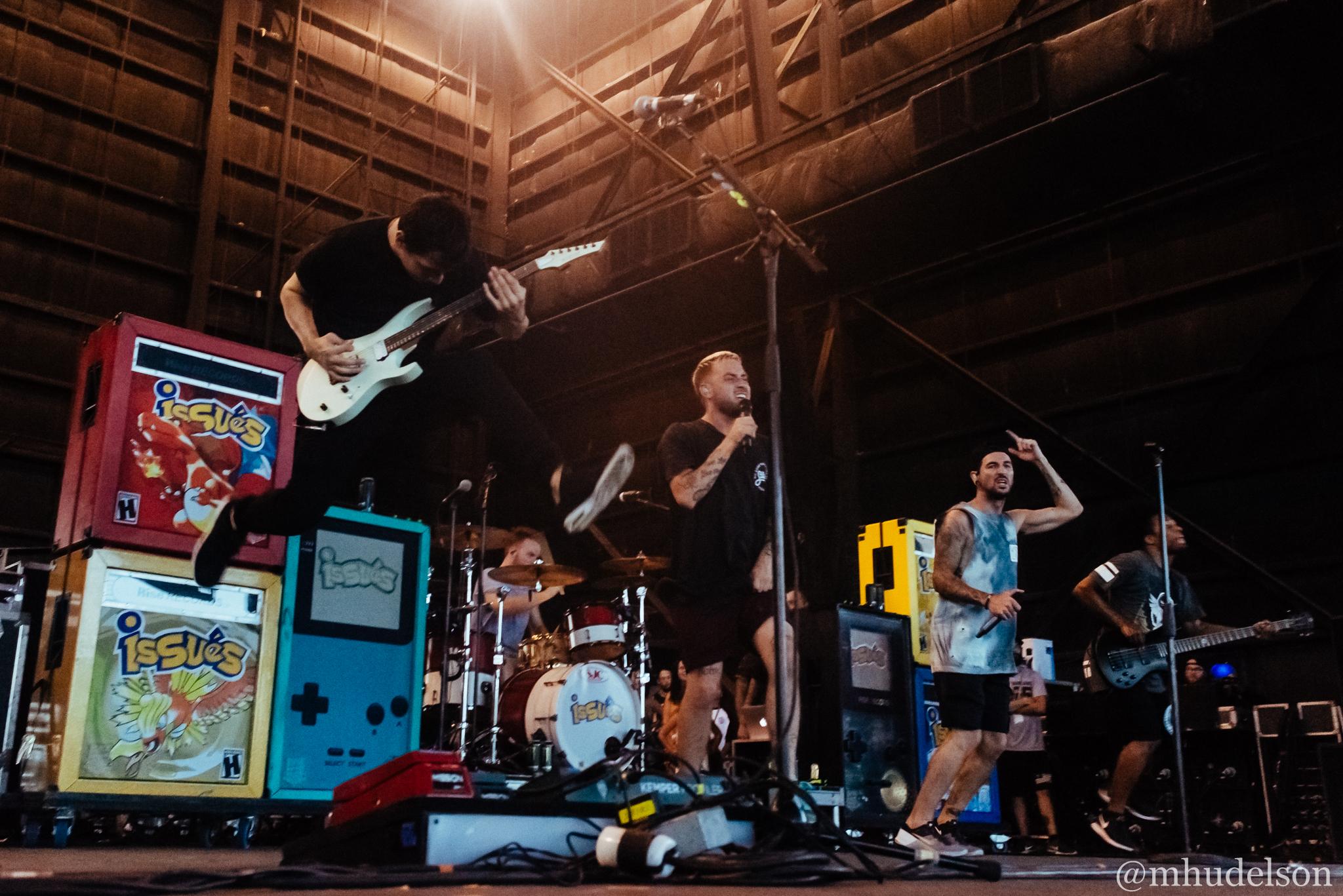 Issues / 7/3/16 / Vans Warped Tour / West Palm Beach, FL
