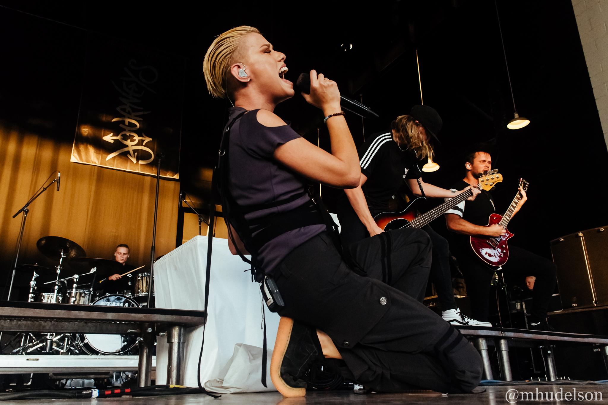 Tonight Alive / 7/5/16 / Vans Warped Tour / Charlotte, NC