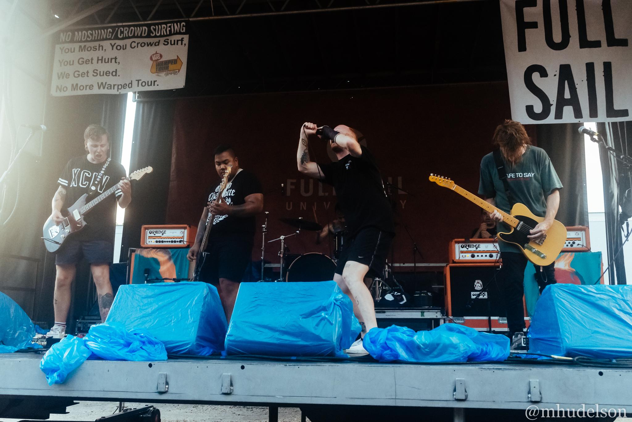 Like Pacific / 7/6/16 / Vans Warped Tour / Virginia Beach, VA