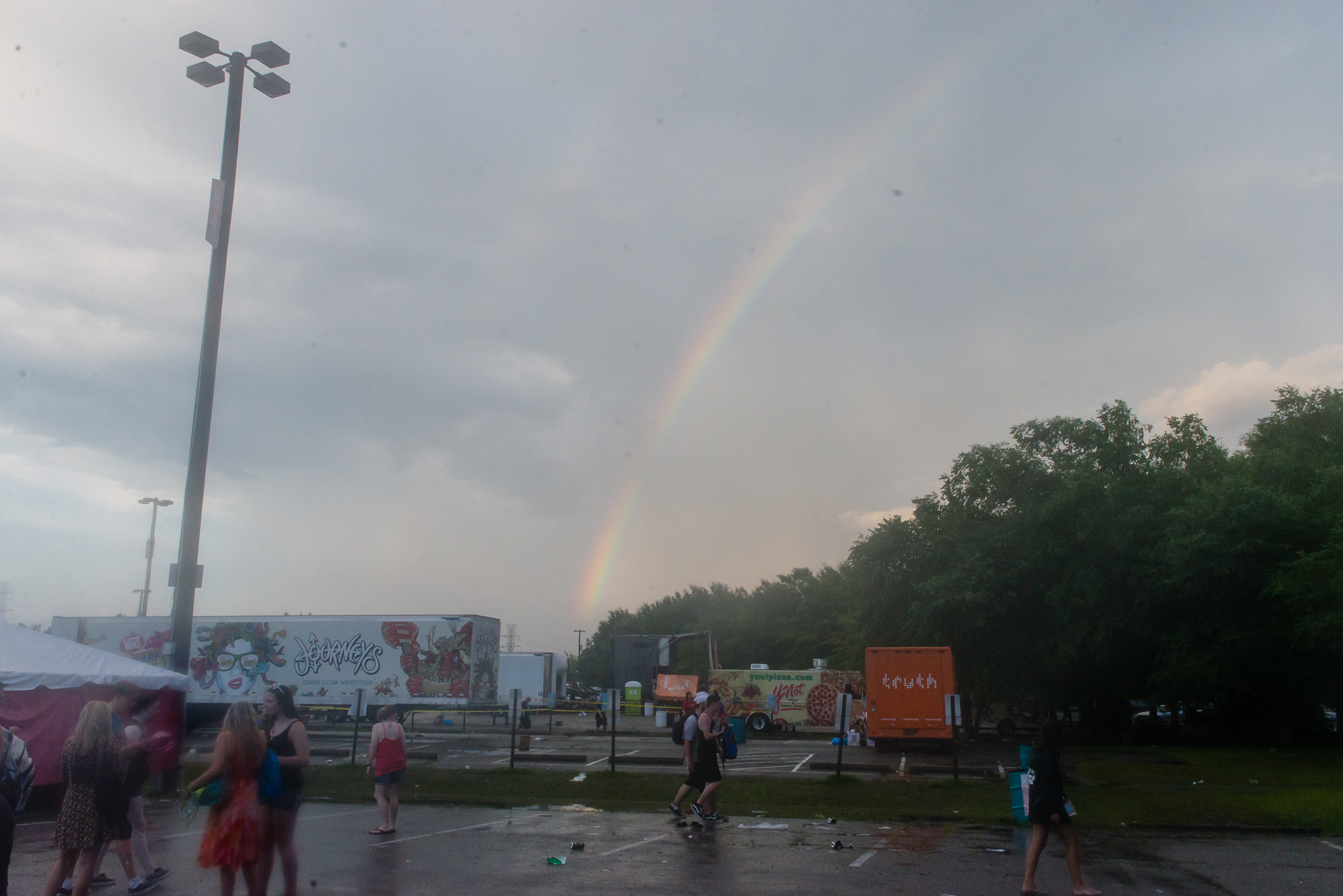 Rainbow in VA Beach! / 7/6/16 / Vans Warped Tour / Virginia Beach, VA