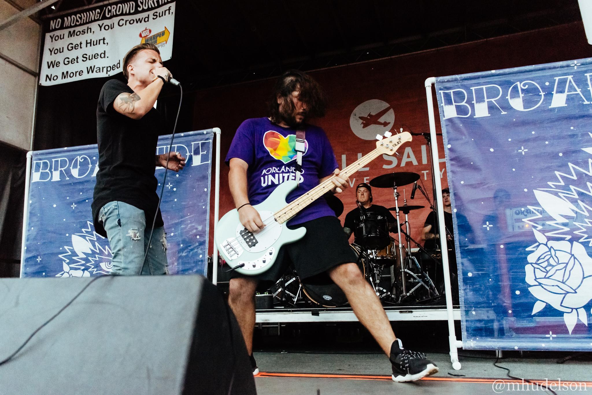 Broadside / 7/10/16 / Vans Warped Tour / Hartford, CT